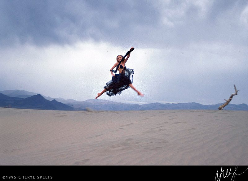 Vanessa in Death Valley // Photo: Cheryl Spelts