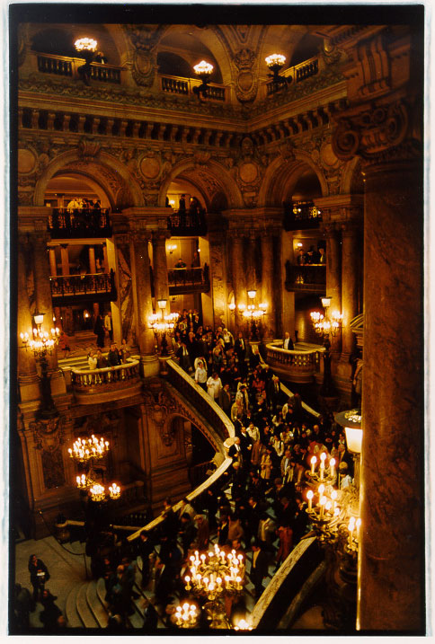 The grand staircase at the Palais Garnier // Photo: Cheryl Spelts