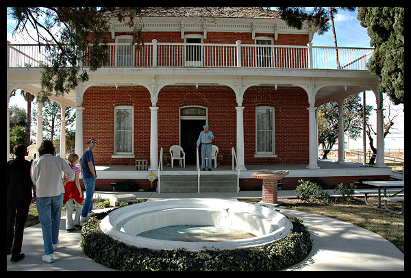 The Estudillo Mansion, San Jacinto, California // Photo: Cheryl Spelts