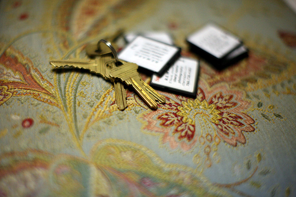 Keys and Cards // Photo: Cheryl Spelts