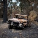 Burned Truck // Photo: Cheryl Spelts