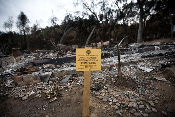 Hazardous material has been removed // Photo: Cheryl Spelts