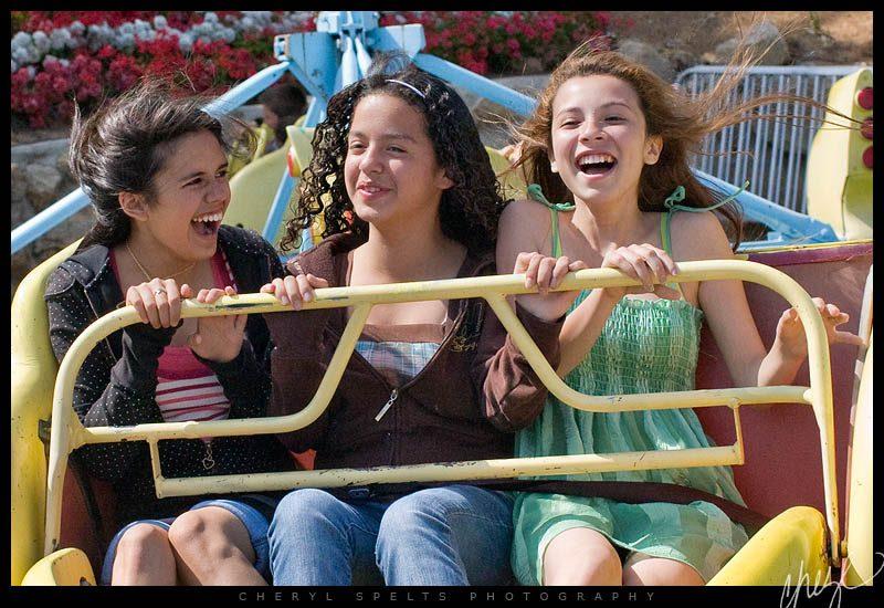 Spinning Carnival Ride at the Fallbrook Avocado Festival // Photo: Cheryl Spelts