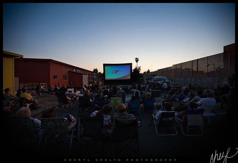 Screening at Fallbrook Film Festival // Photo: Cheryl Spelts