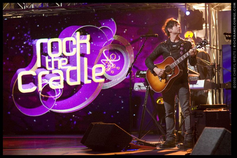 Rafael Moreira on the set of MTV's Rock The Cradle // Photo: Cheryl Spelts