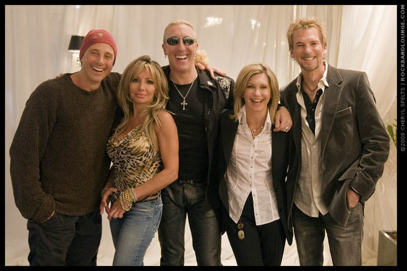 Matt Lattanzi, Suzette Snider, Dee Snider, Olivia Newton-John, and Kenny Loggins // Photo: Cheryl Spelts