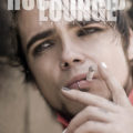 Lukas Rossi on the cover of Rock Band Lounge Magazine // Photo: Cheryl Spelts