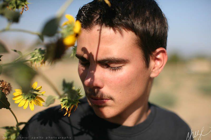 Patrick in San Jacinto // Photo: Cheryl Spelts