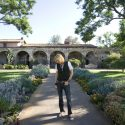 Marty Casey at Mission San Juan Capistrano // Photo: Cheryl Spelts
