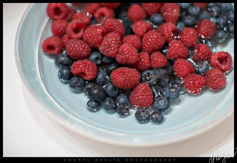 Blueberries and Raspberries // Photo: Cheryl Spelts
