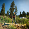 Caitlin in Idyllwild // Photo: Cheryl Spelts