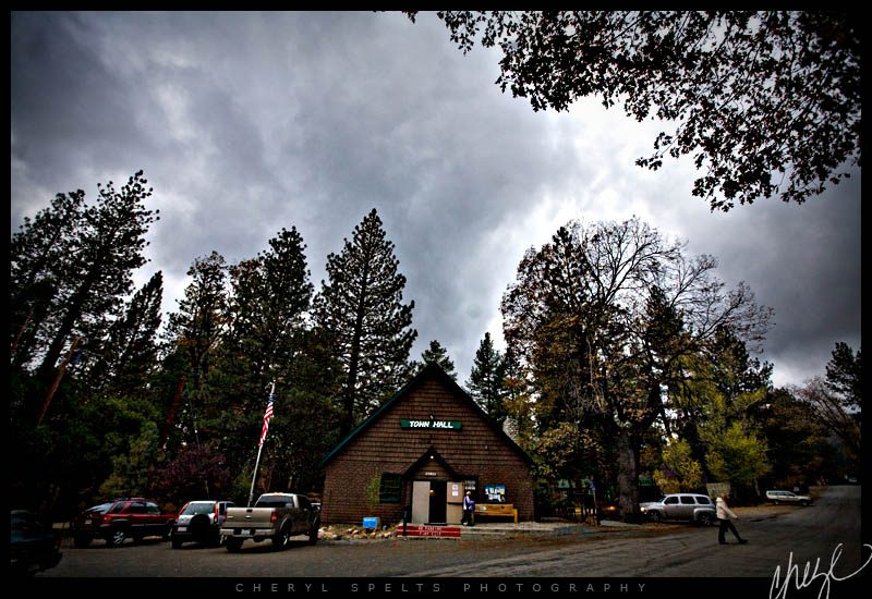Idyllwild Town Hall // Photo: Cheryl Spelts