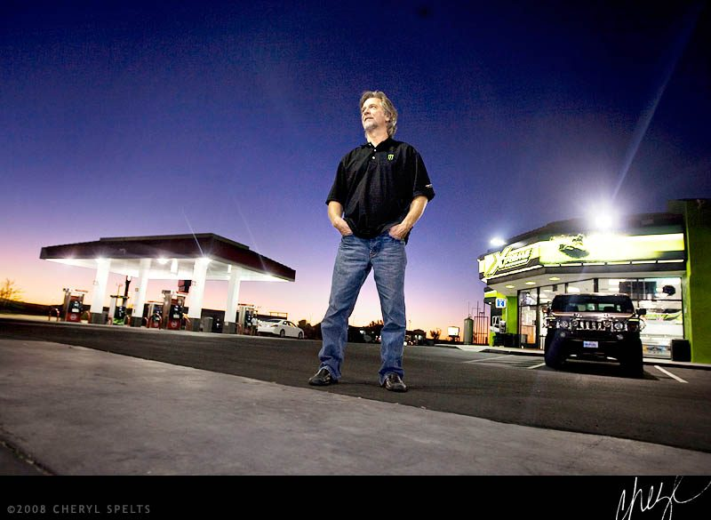 Ed Komski, CEO of Xtreme Convenience of Barstow // Photo: Cheryl Spelts