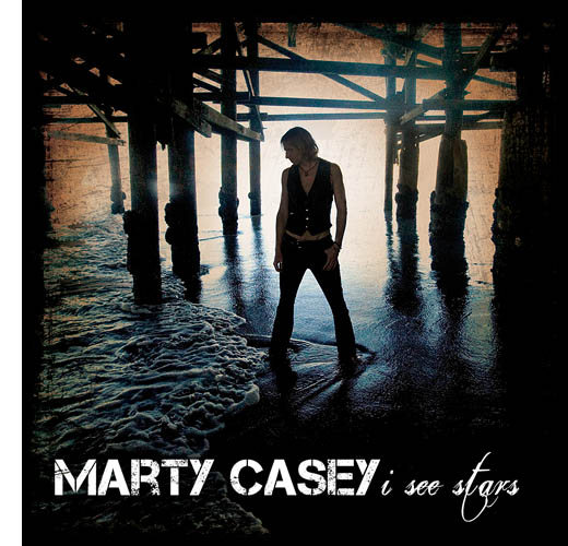 "CD Cover: ""I See Stars"" by Marty Casey // Photo: Cheryl Spelts"