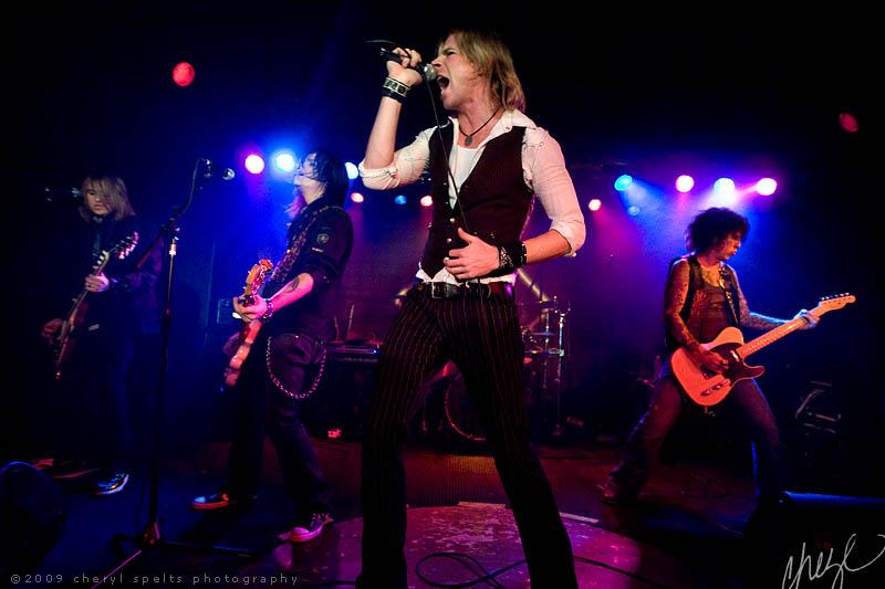 LA Guns // Photo: Cheryl Spelts