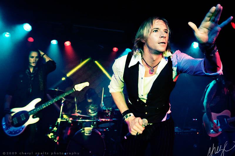 LA Guns at Brixton // Photo: Cheryl Spelts
