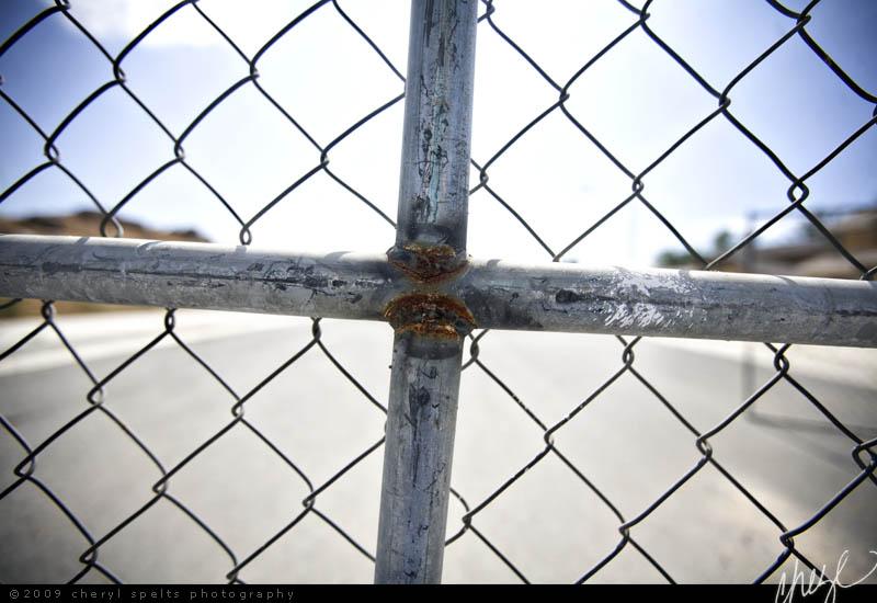 Chain Link Cross // Photo: Cheryl Spelts