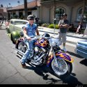 Motorcycle at Riverside Car Show // Photo: Cheryl Spelts
