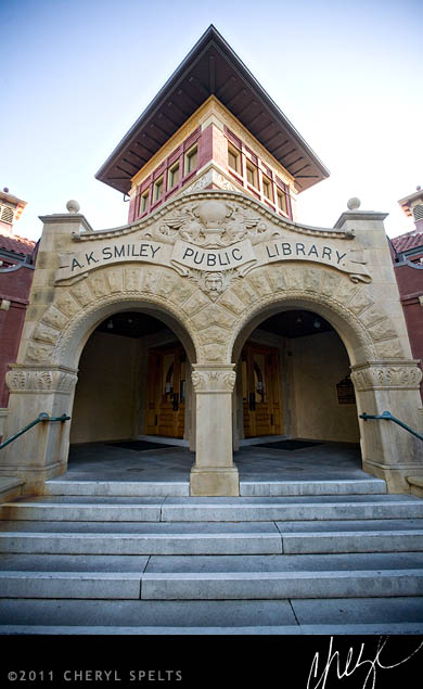 A.K. Smiley Public Library // Photo: Cheryl Spelts