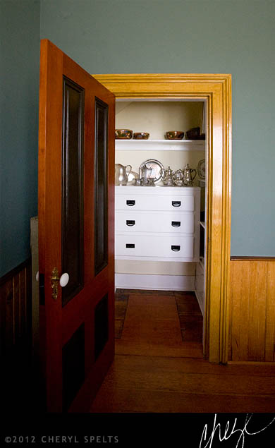 Victorian Era Butler's Pantry // Photo: Cheryl Spelts