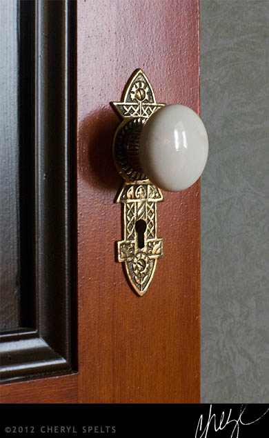 Vintage Doorknob // Photo: Cheryl Spelts