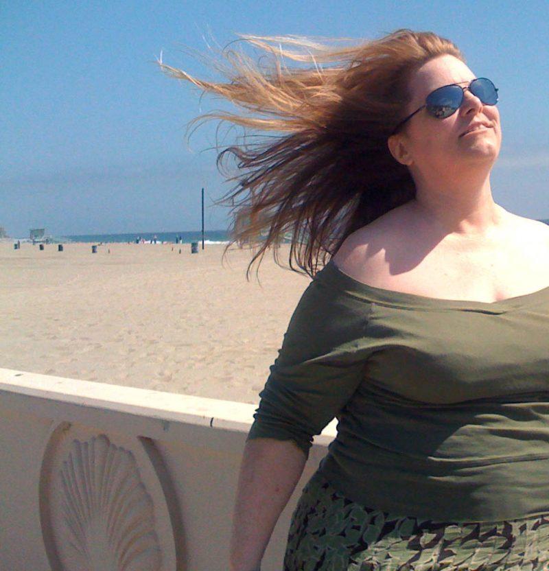 Me at Zuma Beach