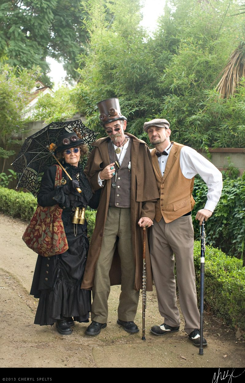 The Steampunk Contingent // Photo: Cheryl Spelts