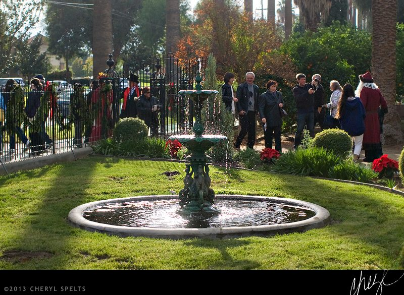 Victorian Fountain // Photo: Cheryl Spelts