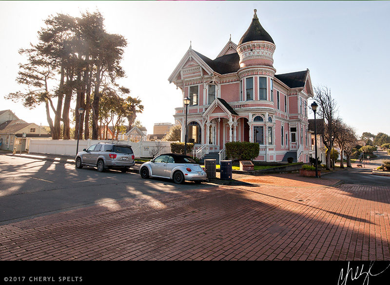 The Pink Lady, Eureka, California // Photo: Cheryl Spelts
