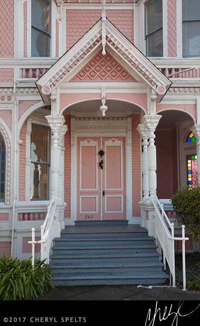 The Pink Lady, Eureka, California // Photo: Cheryl Spelts